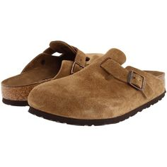 1a63628205aa  140.00 Birkenstock Boston Soft Footbed (Unisex) (Jasper Suede) Clog Shoes
