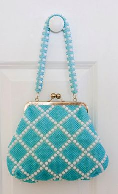 Beaded Frame Handbag