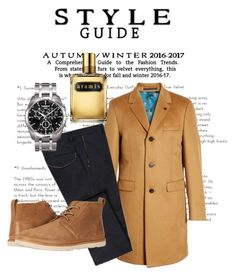 A menswear look from January 2018 featuring old navy mens pants, men's outerwear and mens leather shoes. Browse and shop related looks. Men's Fashion, Fashion Trends, Style Guides, Ted Baker, Menswear, Polyvore, Stuff To Buy, Shopping, Design