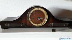 Gebruikt: Houten schouwklok (Klokken & Barometers) - Te koop voor € 60,00 in Oudenburg Roksem