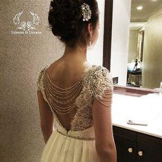 Wedding dress. Lace dress. Exclusive dress by DressesLioness