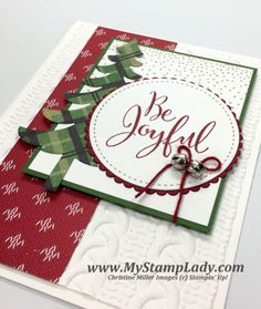 My Stamp Lady: Be Joyful With Stitched Shapes Die: Merriest Wishes, Warmth & Cheer DSP Stack, Stitched Shapes Framelits Dies, Layering Circle Framelits Dies, Santa's Sleigh Dies Thinlits, Cable Knit Dynamic TIEF, Baker's Twine Trio Pack, Mini Jingle Bells