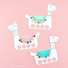 19 Summer Crafts and Activities to Keep Kids Busy Valentine Crafts For Kids, Summer Crafts For Kids, Fall Crafts, Zebra Craft, Flamingo Craft, Emoji Craft, Colorful Jellyfish, Llama Decor, Llama Birthday