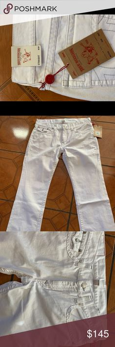 True religion jeans Brand new with tags true religion jeans Never worn or tried on Amazing colour and stitching to the jeans True Religion Jeans Straight True Religion Jeans, Jeans Brands, Fashion Tips, Fashion Design, Fashion Trends, Stitching, Khaki Pants, Brand New, Man Shop