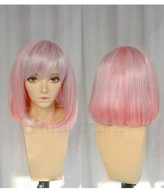 NORN9 Koharu Short Pink Bob Cosplay Wig <3 -->> http://www.trustedeal.com/NORN9-Koharu-Short-Pink-Bob-Cosplay-Wig.html