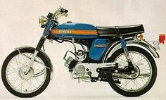 Yamaha also known as 'fizzy' 50cc Motorbike, Mini Motorbike, Mini Bike, Small Motorcycles, French Models, Super Bikes, Motorbikes, Yamaha, Honda