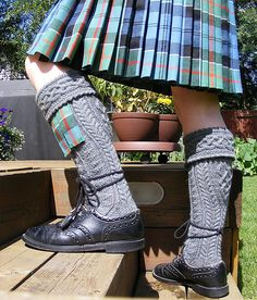 Kilt Hose.  I have been working on a pair of these for my brother for over a year.  I sure hope mine turn out as nice as these