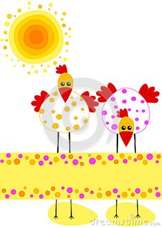 Celia Ascenso - Polka Dot Chickens