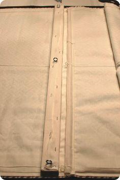 33 tonos de verde: Tutorial. . .How Coser una cortina romana