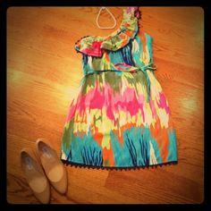 "Selling this ""One-shouldered dress"" in my Poshmark closet! My username is: karamonty. #shopmycloset #poshmark #fashion #shopping #style #forsale #Dresses"