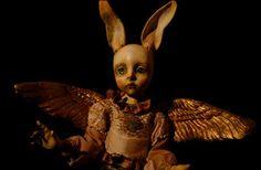 Mari Shimizu - Google Search Art Archive, Ball Jointed Dolls, Gothic Lolita, Macabre, Occult, Puppets, Sculpture Art, Art Dolls, Creepy