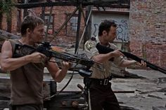 Two fav characters! Carl and Glen are also acceptable