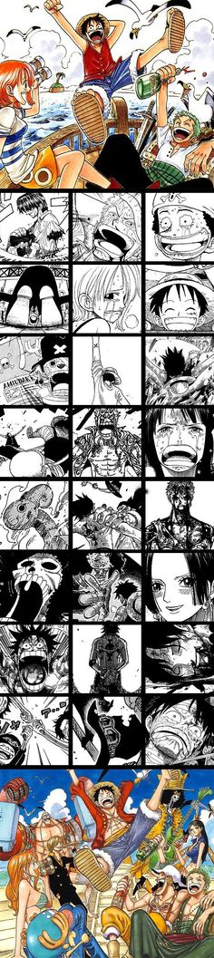 "Twenty-two years have passed since Roger's execution, and Monkey D. Luffy, a young man inspired by his childhood idol and powerful pirate ""Red Haired"" Shanks, sets off on a journey from the East Blue sea to find the One Piece and proclaim himself as the King of the Pirates. In an effort to organize his …"