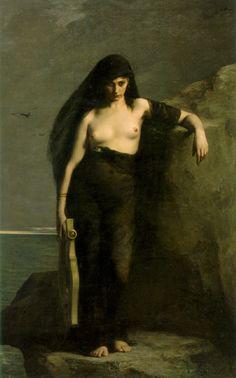 Sappho, Charles Mengin 1877