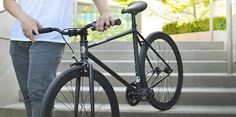 fixie bikes have become quite popular, and they're distinct because the cog is directly tied to the motion of the pedal. Every fixie bike
