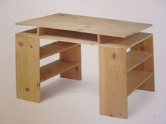 Donald Judd: Prototype Desk, 1978