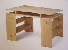 """Prototype Desk"", 1978 by Donald Judd."