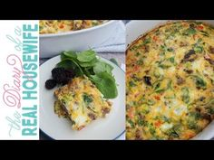 This is Easy Low Carb Breakfast Casserole is loaded is vegetables and full of flavor. I added sausage and baked until firm. You can find the full recipe with. Low Carb Breakfast Casserole, Low Carb Breakfast Easy, Sweet Potato Breakfast, Breakfast Recipes, Low Carb Recipes, Cooking Recipes, Low Carb Casseroles, How To Cook Sausage, Vegetables