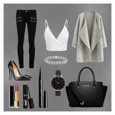 """""""spoil yourself"""" by danielleherbert7 on Polyvore featuring Christian Louboutin, Paige Denim, MICHAEL Michael Kors, Olivia Burton, Chanel and Marc Jacobs"""