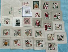 12 days of christmas: Better Homes & Gardens Cross Stitch Christmas 2002
