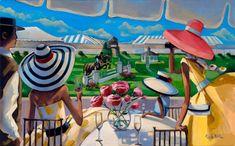 Hamptons Classic Combined Scene Limited Edition Giclée