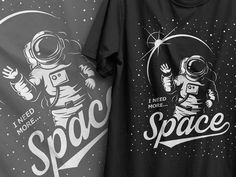 "Vector t-shirt design. Space theme. After watching the ""Martian"" film I was inspired to creat this t-shirt design. Zip contains: .EPS, .JPEG (4000x5000) NOTE: Text is NOT editable. Mockups"