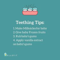 Relieve your baby!