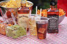 Jack Daniel's tailgating