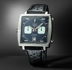 The original Heuer Monaco ref 1133 - 1969 #vintagewatches #heuermonaco #monaco1133