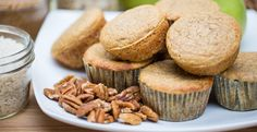 Gluten-Free Pear & Pecan Muffins by Blendtec