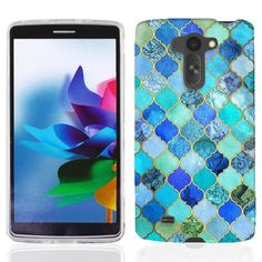 For LG G Vista VS880 Jade Marble Case Cover. perfect fit. Allows easy access to all buttons, controls and ports. protects phone from scratches and chips. Compatible with LG G Vista VS880.