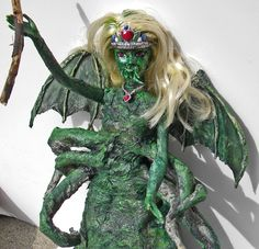 ...to reality  Introverted Wife: Cthulhu Barbie