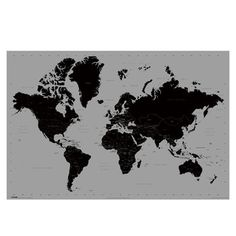 Get Gray World Map Poster - 24 x 36 online or find other Posters products from HobbyLobby.com