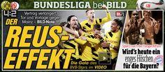 Borussia Dortmund - FSV Mainz 4:2 – der Reus-Effekt http://www.bild.de/bundesliga/1-liga/saison-2014-2015/spielbericht-borussia-dortmund-gegen-1-fsv-mainz-05-am-21-Spieltag-36648514.bild.html