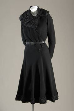 Day Dress  Madeleine Vionnet, 1935  The Chicago History Museum