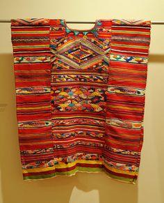 incredible piece: Oaxaca Huipil from San Felipe Usila, Chinantec community