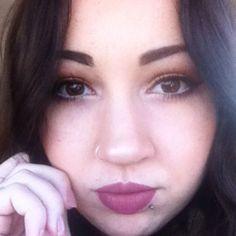 Stila palette Eyes Are The Window 'Spirit' and ABH liquid lipstick #DustyRose IG by ruedesdemoiselles