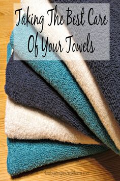 Taking the best care of your towels can save you money and prevent the growth of mould or bacteria on something you use daily.