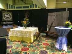 Our booth from the 2014 Wedding Expo!