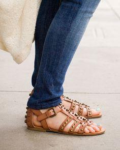 Meredith Cognac Sandal