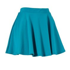Ponte Flared Skater Skirt ($3.98) ❤ liked on Polyvore featuring skirts, bottoms, faldas, jupes, ponte knit skirt, flared hem skirt, ponte skirt, flared skirt and summer skirts