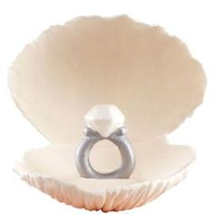 How to make a Clam Shell Cake Topper.