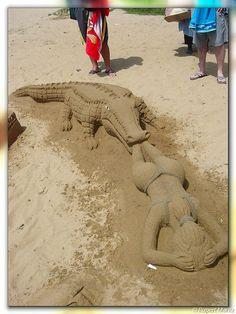 "Sand ""Castles"" - Amanzimtoti by hannes.steyn, via Flickr"