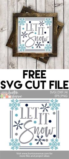 Free Winter SVG Files for Silhouette and Cricut