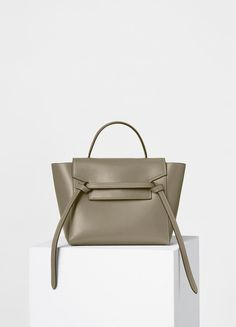 9d57d060ba Micro Belt Handbag in Double Stitching Calfskin - Spring   Summer  Collection 2017