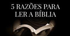 5 razões para ler a Bíblia A Bíblia é muito grande e nem sempre é fácil de entender. Mas ler e estudar a Bíblia é muito importante! Se você não entende alguma coisa, existem muitas pessoas e muitos recursos para lhe ajudar. Estas são algumas razões por que é bom ler a Bíblia regularmente: 1. Para ouvir a voz de Deus A Bíblia é a Palavra de Deus. Quando você lê a Bíblia, Deus fala com você. Tudo que Deus diz (...) https://www.bibliaon.com/razoes_para_ler_a_biblia/