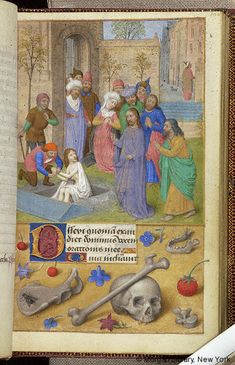 Book of Hours, MS M.6 fol. 100r - Images from Medieval and Renaissance Manuscripts - The Morgan Library & Museum
