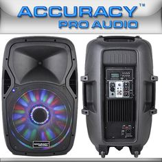 Portable Active Powered PA Speakers System With Bluetooth PML15DPMXF-BT-BL
