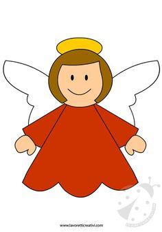 Natale – Sagome angelo
