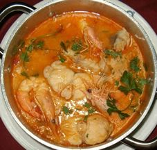 While in #Portugal, try this specialty: #Arroz de Tamboril com Gambas